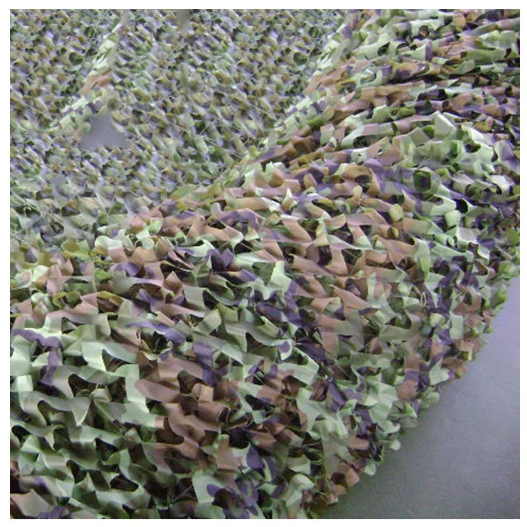 45m Jungle Camo Netting, Leafy Oxford Fabric Lightweight and Durable Shade Decoration Hunting Hidden Shooting Camping Photography Jungle Single Sided Camouflage Net Carl Artbay Shading Net