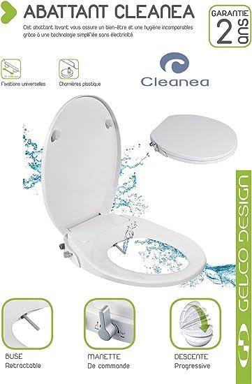 Gelco Design 705187 Abattant WC /à Descente Ralentie Taxi