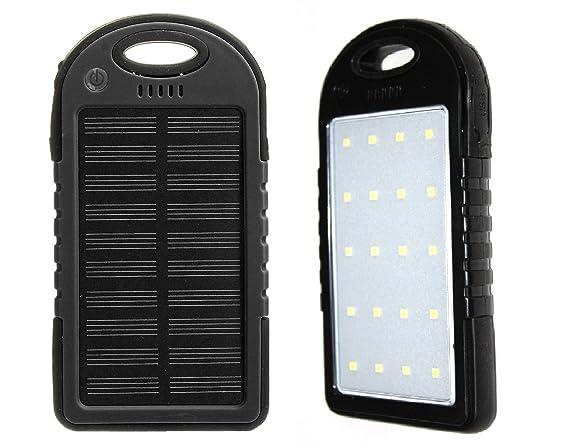 Amazon.com: Cargador solar, cargador solar Power Bank 30000 ...