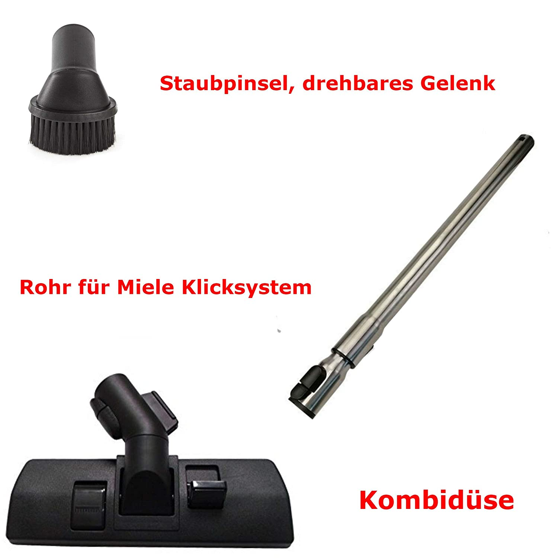Maxorado - Juego de tubo de aspiradora compatible con Miele s4211 ...