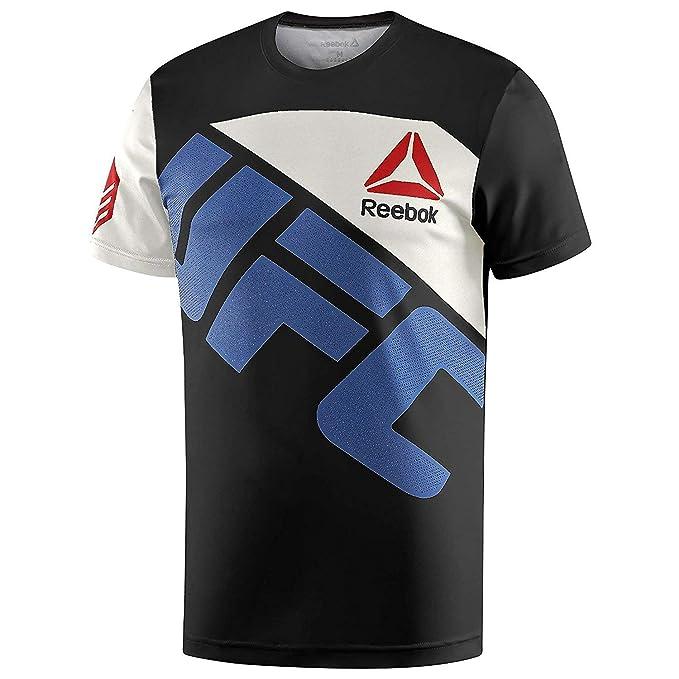 f02b33f5741c Amazon.com  Reebok UFC Ronda Rousey Walkout Jersey  Sports   Outdoors