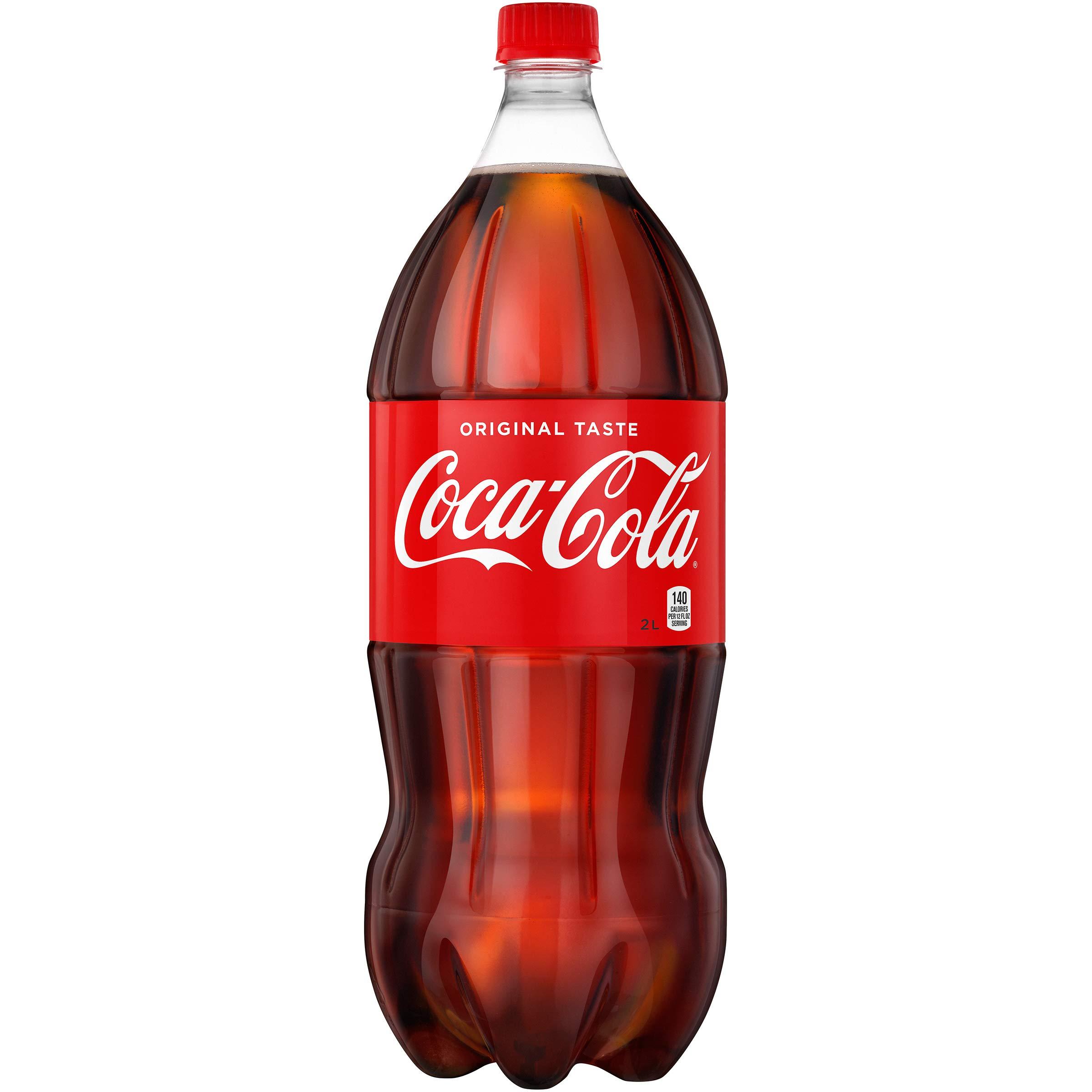 COCA COLA COLA SODA REGULAR PLASTIC BOTTLE - 0049000050101, 67.6 Fl Oz (Pack of 1)