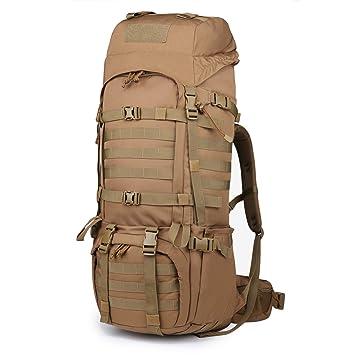 a53e2a7eba Mountaintop 65L Zaino Militare / Tattico Molle / Campeggio / Zaino di  Assalto / Escursionismo / Sport / Patrol Camping: Amazon.it: Sport e tempo  libero