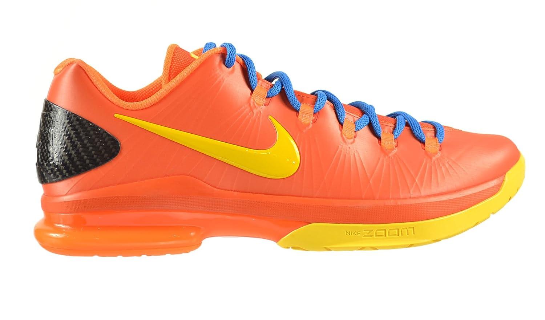 finest selection 484c5 e68ca Amazon.com   NIKE KD V 5 Elite Mango Men s Shoes Team Orange TR Yellow-Total  Orange-Photo Blue 585386-800   Basketball