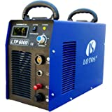 "Lotos Technology LTP6000 60Amp Non-Touch Pilot Arc Plasma Cutter, Blue, 3/4"" Inch Clean Cut"