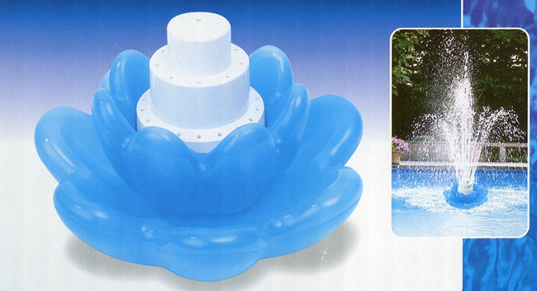 Swimline 8598 Blossom Triple Tier Floating Fountain 8598