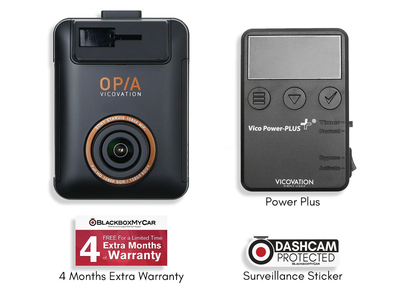 Vicovation vico-opia1 Sony STARVISフルHD 1080p SDR WiFiスマートCarcam (ソロ+電源プラス) B075FDPQNF