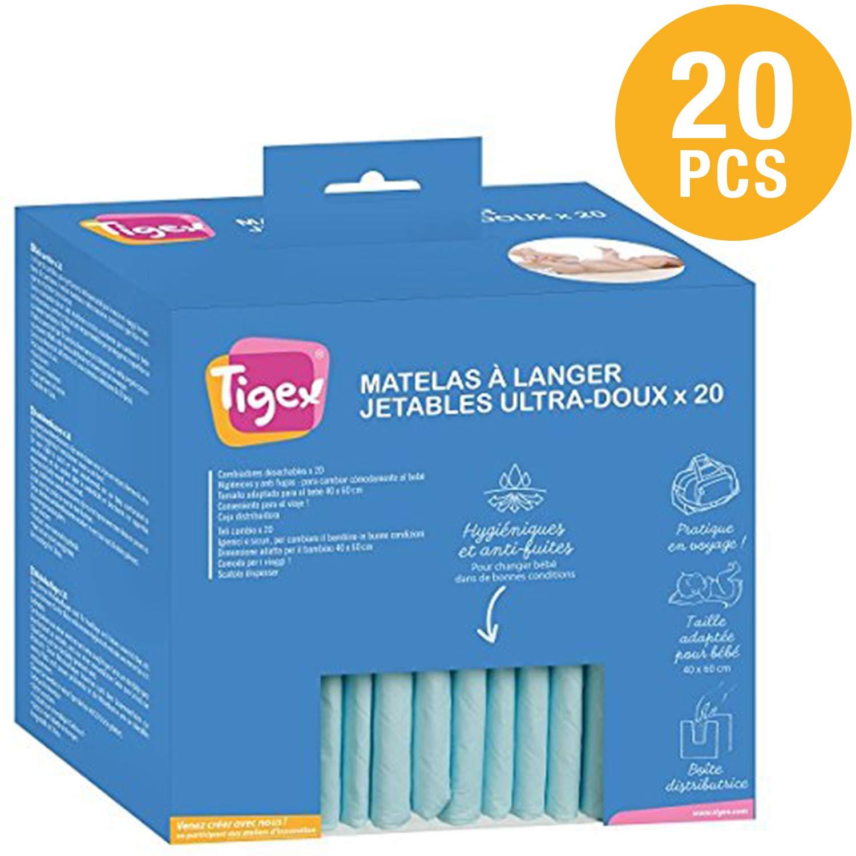 Tigex - Cambiador Desechable para Bebé - Pack 20 uds. product image