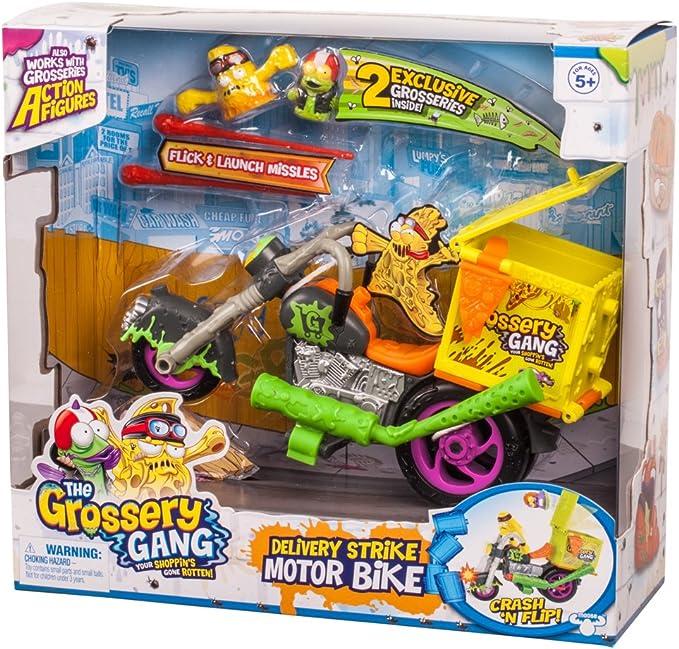 Grossery Gang livraison Strike moto