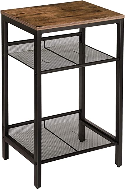 An Industrial End Table