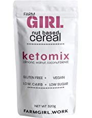 Farm Girl: KETOMIX Nut Based Cereal, Cinnamon Maple, Keto Approved, Low Lectin, Vegan, Now%20 Larger