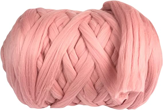 100% lana de merino, hilo grueso, súper suave, 25 micrones, extra ...