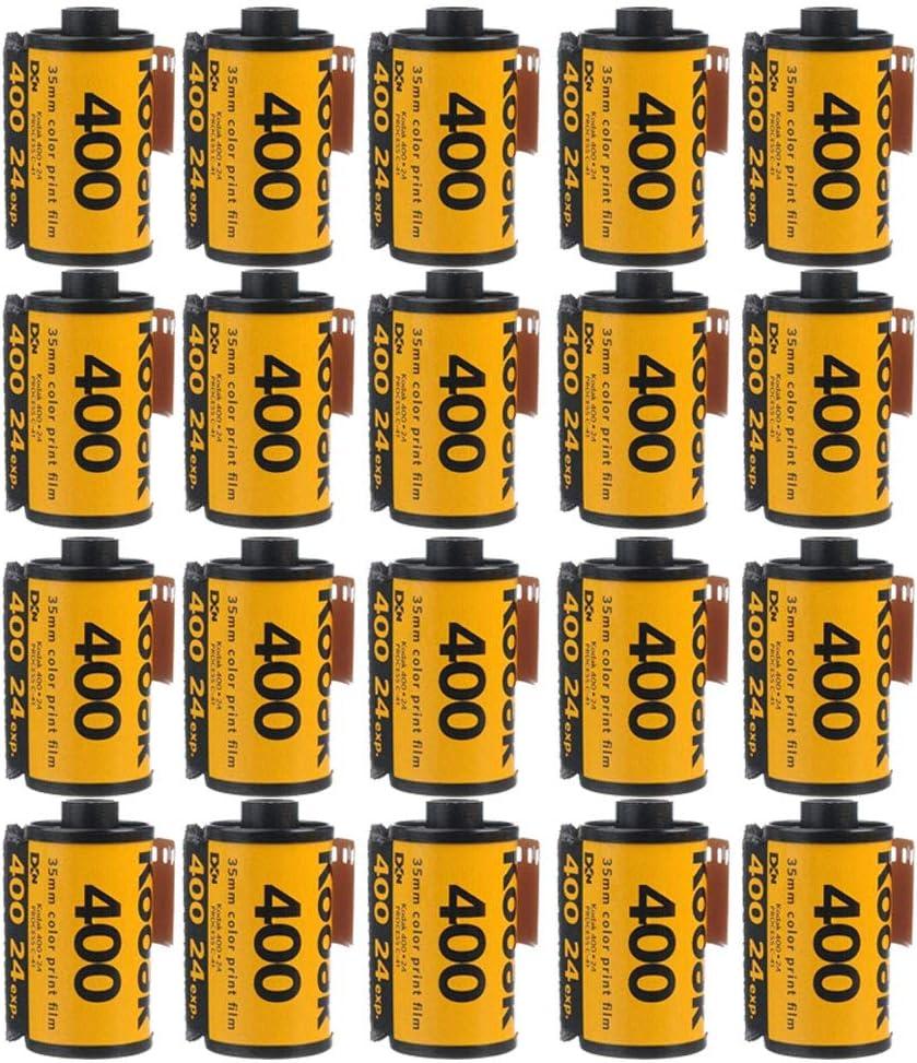 20 Rolls Kodak GC Ultramax 400 Color Negative Film 135-36 FRESH DATED