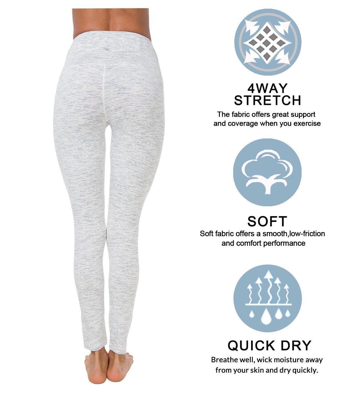 Queenie Ke Women Yoga Legging Power Flex High Waist