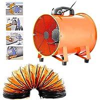 Ventilador Extractor Portátil Axial apuntador taller extractor ventilador