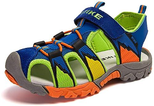 f441794af2f Sandalias del Niño de Verano Las Zapatillas de Deporte Sandalias Velcro para  Niño Zapatillas de Deporte Al Aire Libre: Amazon.es: Zapatos y complementos