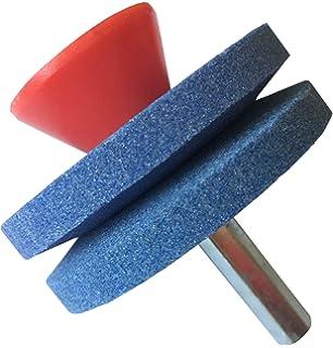 TUPARKA 4 Pieza Cortacésped Afilador de cuchillas con 1 pieza de ...