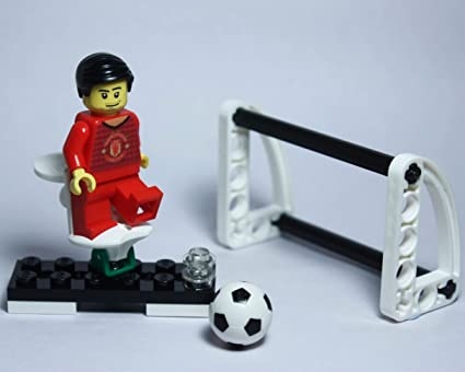 Amazon com: LEGO Manchester United Football Club Custom Minifigure