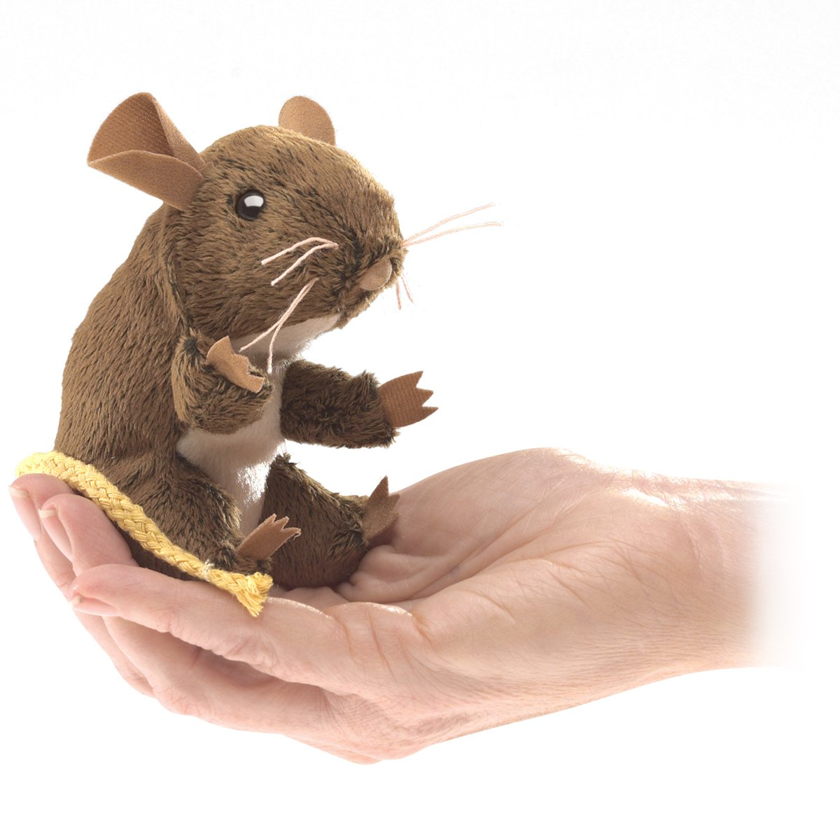 Folkmanis Mini Field Mouse Finger Puppet Folkmanis Puppets 2652