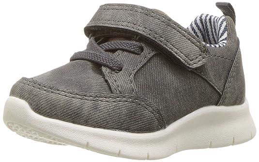 OshKosh B'Gosh Baby Reipurt Girl's and Boy's Lightweight Sneaker, Grey, 9 M US Toddler