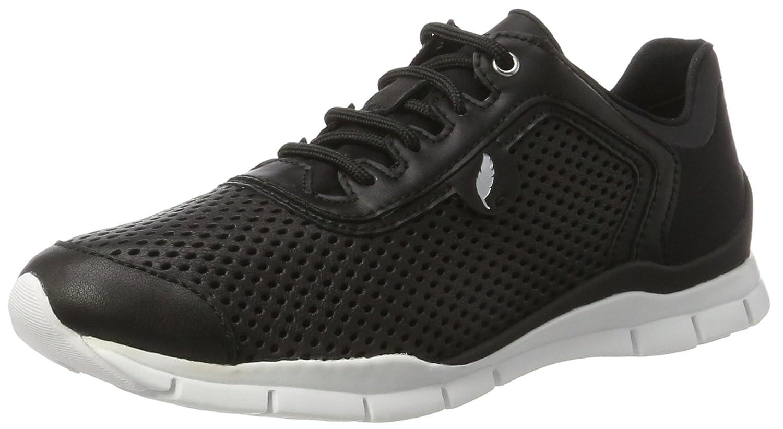 Geox D Sukie A - Zapatillas Mujer 37 EU|Negro (Blackc9999)