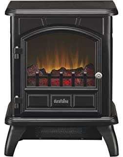 Duraflame DFS 500 0 Thomas Electric Stove With Heater, Black