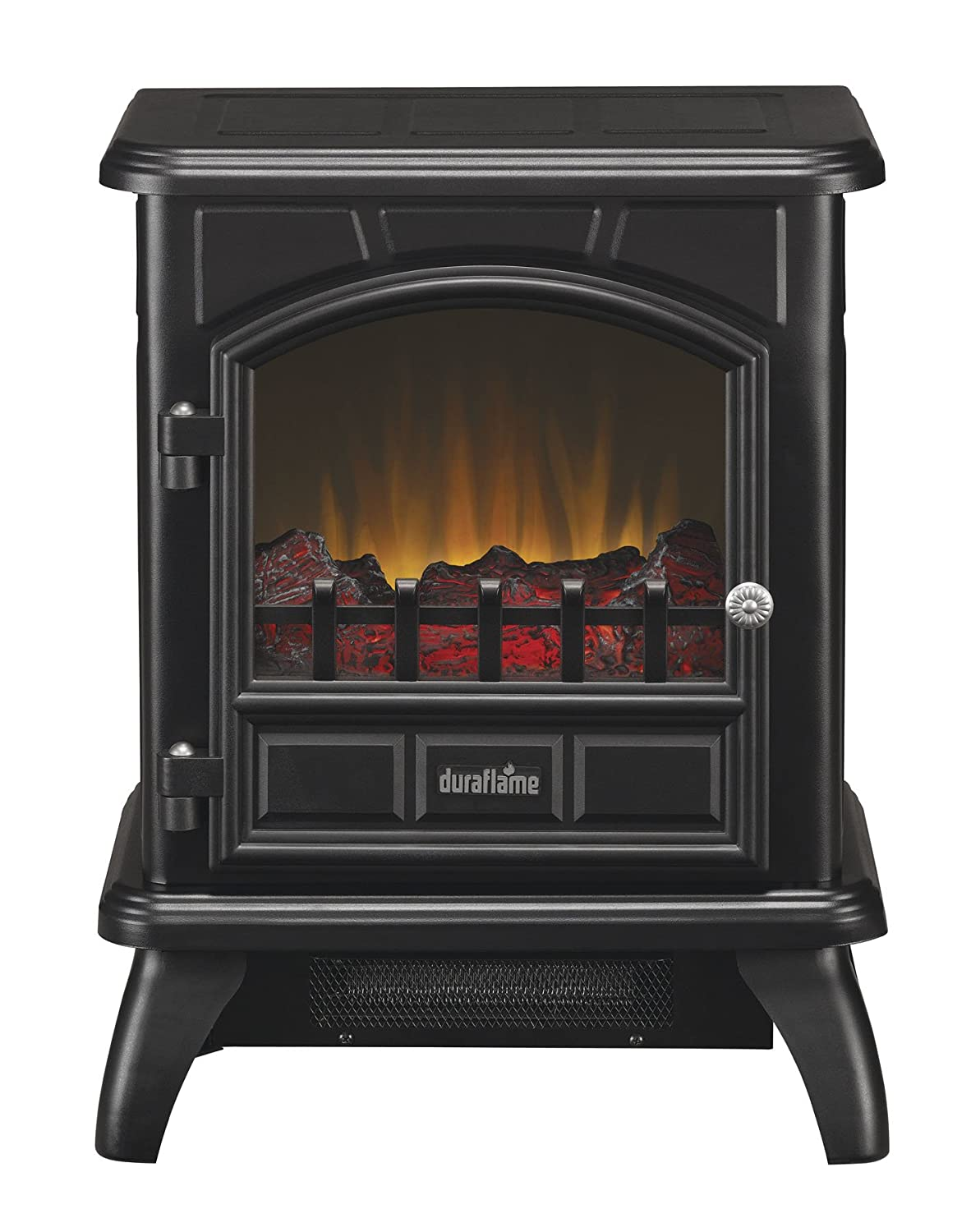 Amazon.com: Duraflame DFS-500-0 Thomas Electric Stove with Heater ...