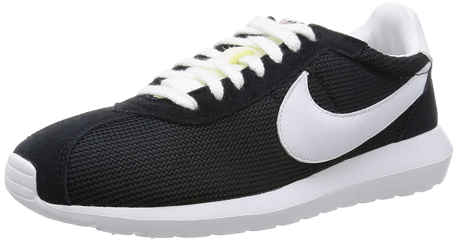 size 40 a19bb c0b02 Amazon.com   Nike Men s Roshe Ld-1000 Qs Black White White Ankle-High Mesh  Running Shoe - 10M   Road Running