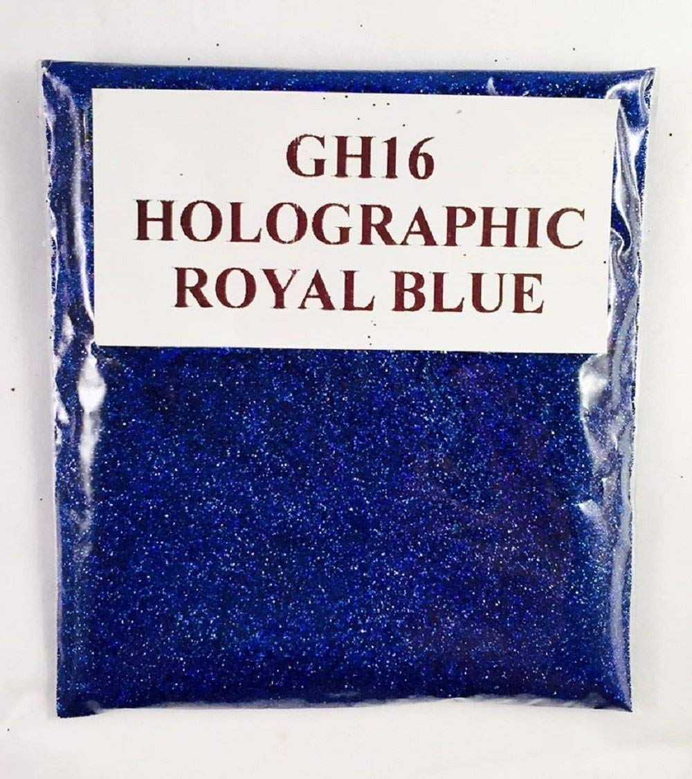 (GH16 – HOLOGRAPHIC ROYAL BLUE 100G) GLITTER NAIL ART COSMETIC CRAFT FLORIST WINE GLASS GLITTER TATTOO N/A