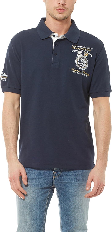 Ultrasport Fort Lauderdale Collection Polo para hombre Wadhurst, polo clásico para hombre con tres botones, ideal para el deporte y el ocio, camiseta con cuello de polo en varios colores y tallas