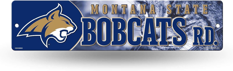 NCAA Rico Industries  16-Inch Plastic Street Sign D/écor Montana State Bobcats