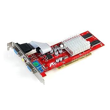ATI Radeon 7000 - Tarjeta gráfica (64 MB, PCI, VGA dual ...