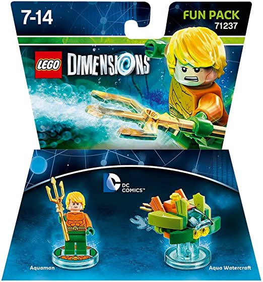 Warner Bros Interactive Spain Lego Dimensions - DC Aquaman: Amazon.es: Videojuegos
