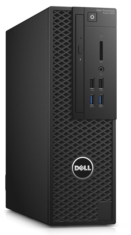 DELL Precision T3420 3,3 GHz Intel® Xeon® E3 v6 E3-1225V6 Negro SFF Puesto de Trabajo - Ordenador de sobremesa (3,3 GHz, Intel® Xeon® E3 v6, 16 GB, 256 GB, ...