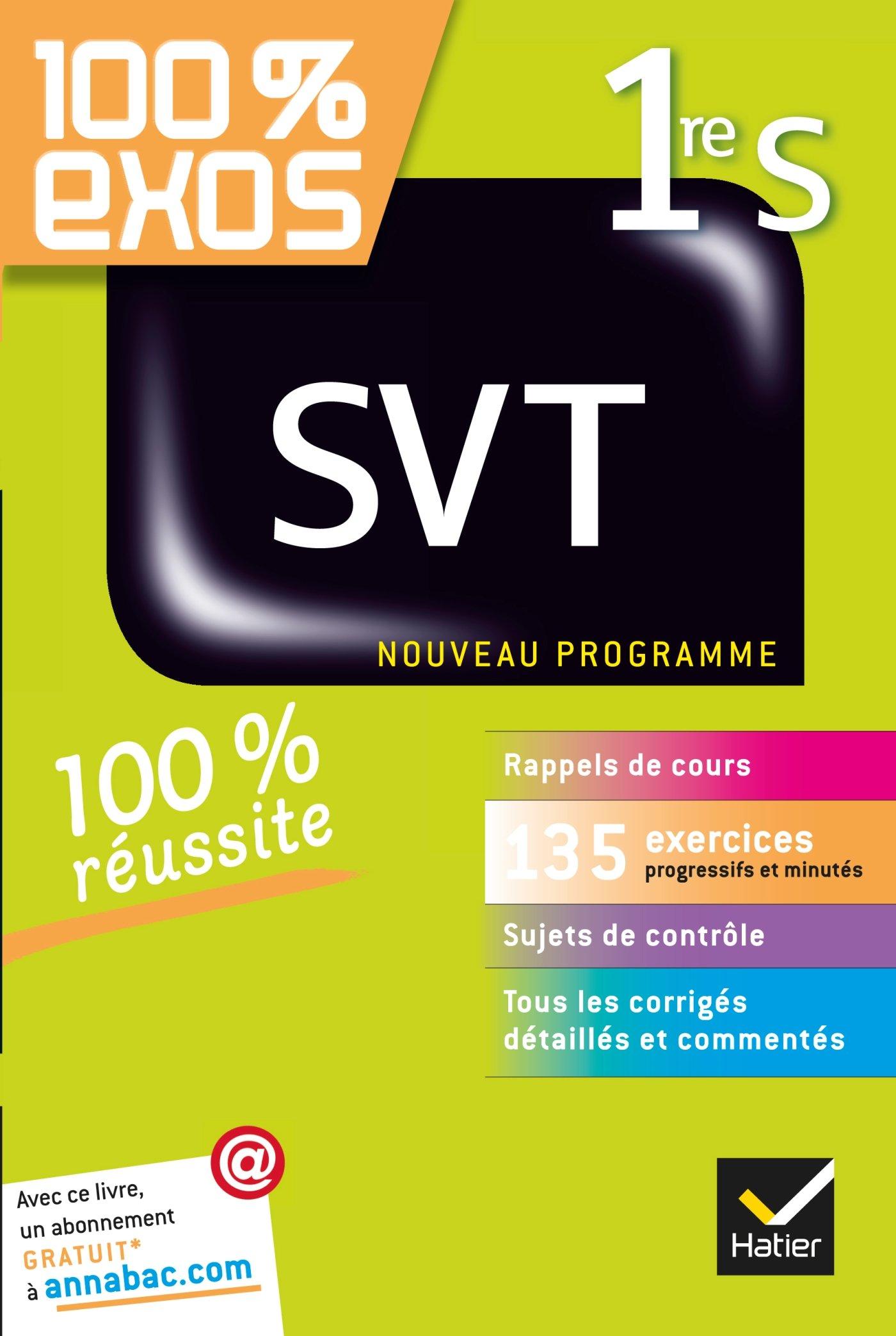 Exo d' SVT 1ère SVT