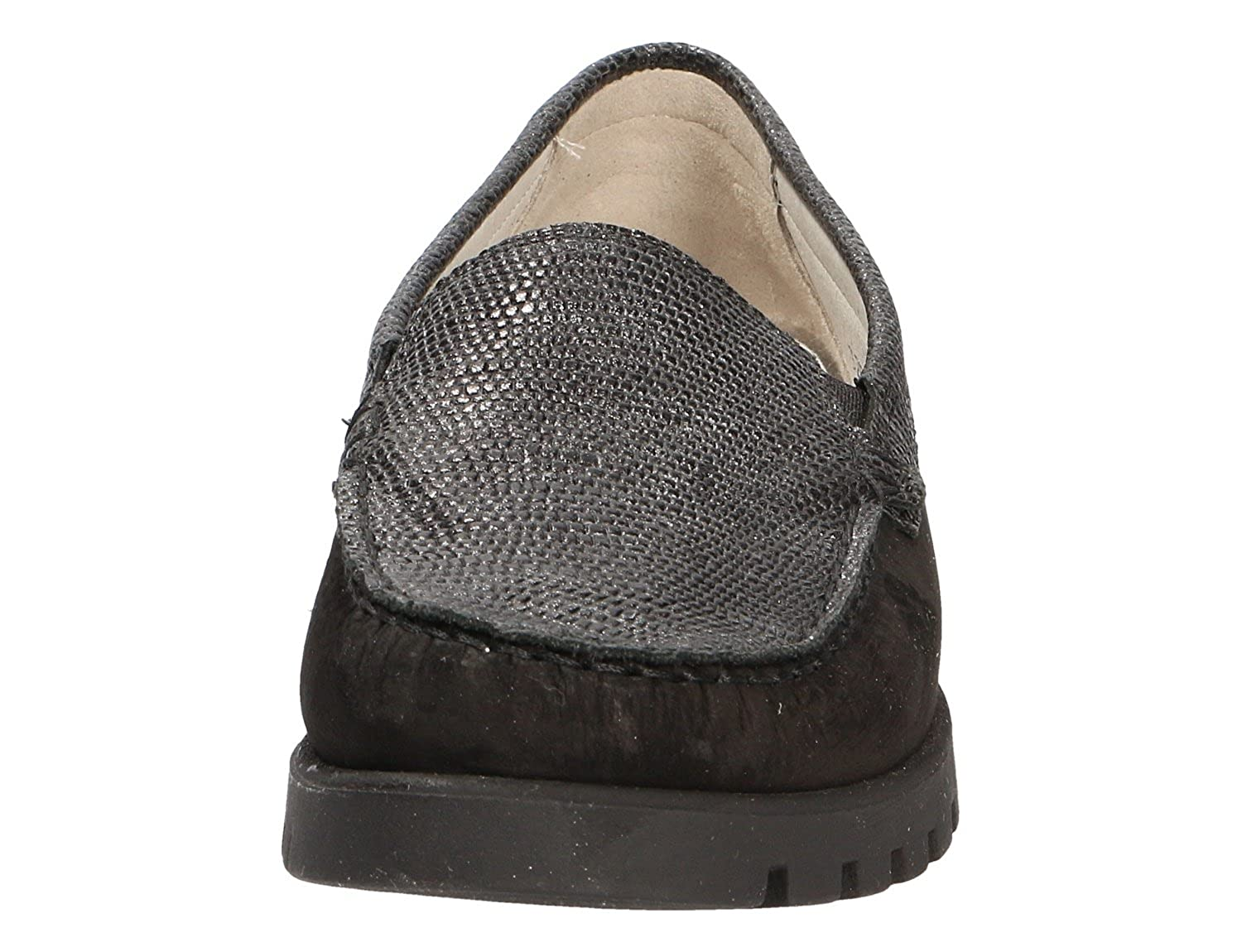 Waldläufer Damen Slipper 304336 Hegli -H- 549001.202.001 Schwarz 304336 Slipper e56916