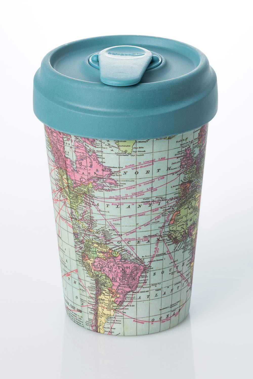 Coffe to go gobelet en bambou avec couvercle Around the World Bamboo Cup