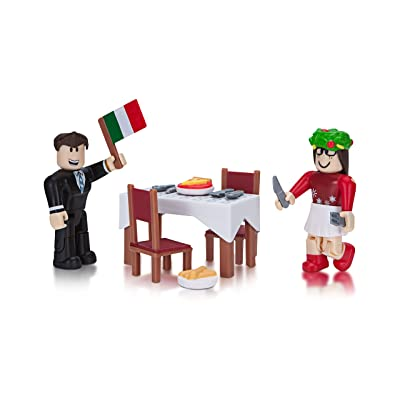Roblox Celebrity Collection - Soro's Fine Italian Dining Game Pack [Includes Exclusive Virtual Item]: Toys & Games