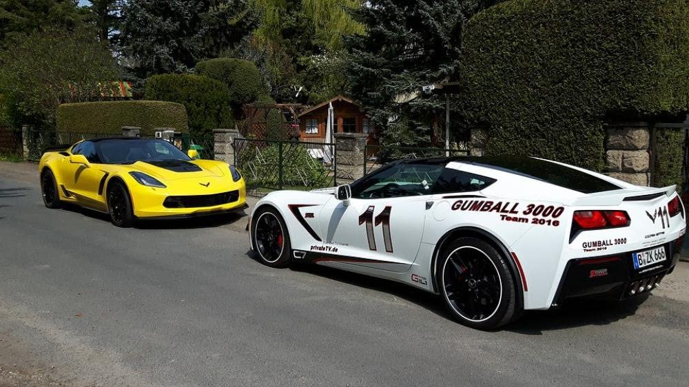 "Corvette Coupe Poster 24/""x 36/"" HD 2016 Chevrolet"
