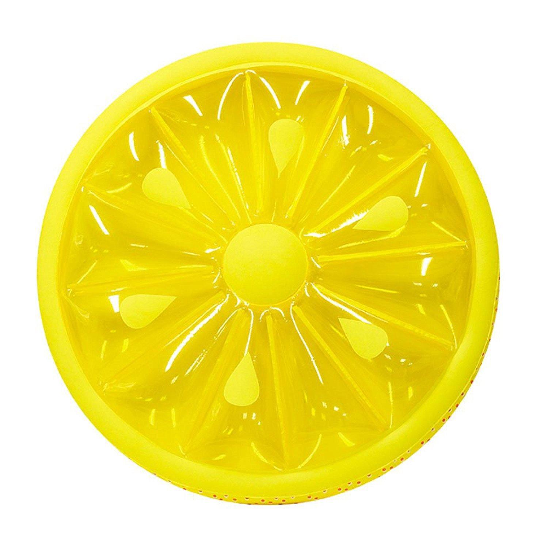auténtico Yamyannie-SWP Flotador de la la la Piscina, La Piscina Inflable del PVC Flota la Forma del limón del Asiento para los niños Adultos La Muchacha Vara el Juguete del Flotador de los Muchachos  oferta especial