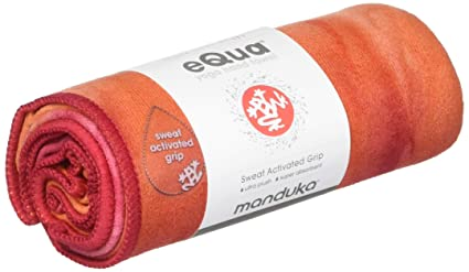Amazon.com : Manduka Equa Hand Yoga Towel - Esperance 16 ...