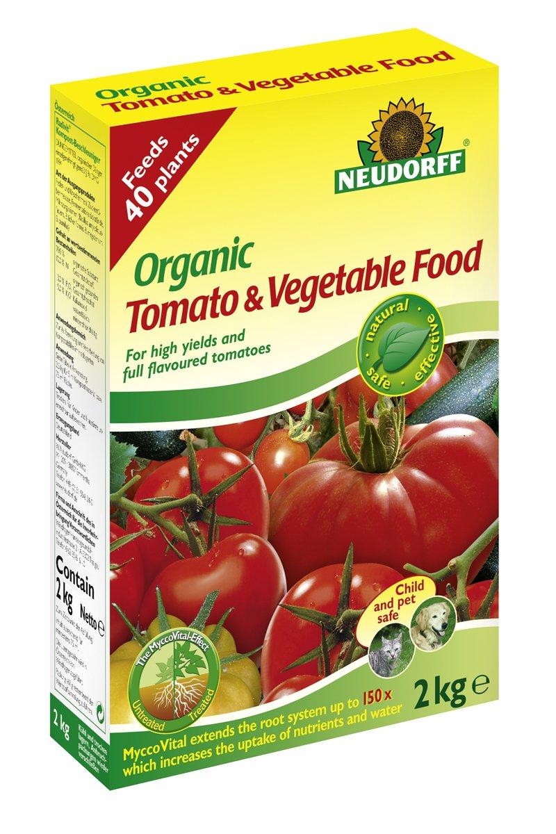 Doff Portland Ltd Neudorff 2Kg Organic Tomato and Vegetable Food 613603