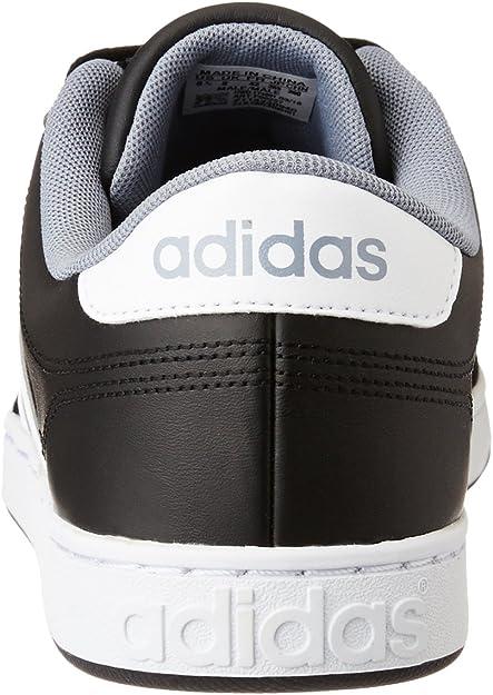 adidas Herren Courtset Laufschuhe, schwarz (CblackFtwwht