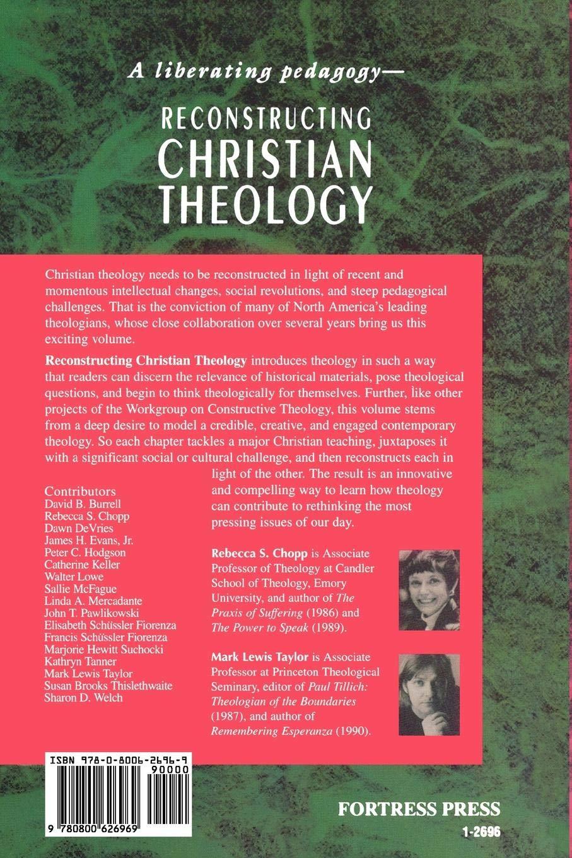 Reconstructing Christian Theology