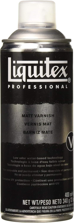 Liquitex Professional - Barniz mate en spray, 400ml