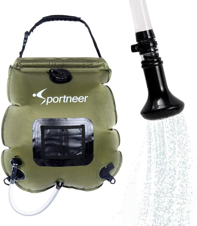 Sportneer 5-Gallon Solar Camping Shower Bag