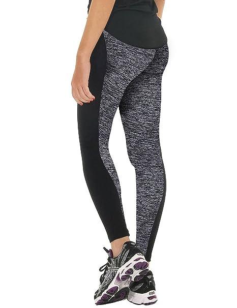 6f4bbc3b97ed3 FITTOO Women Fitness Tights Workout Running Leggings High Waist Yoga Pants:  Amazon.co.uk: Clothing