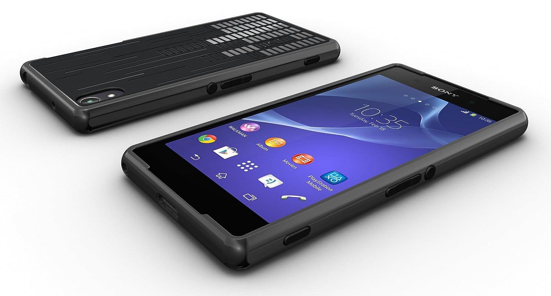 TUDIA Clef TPU Bumper Protective Case for Sony Xperia Z2 (Black)