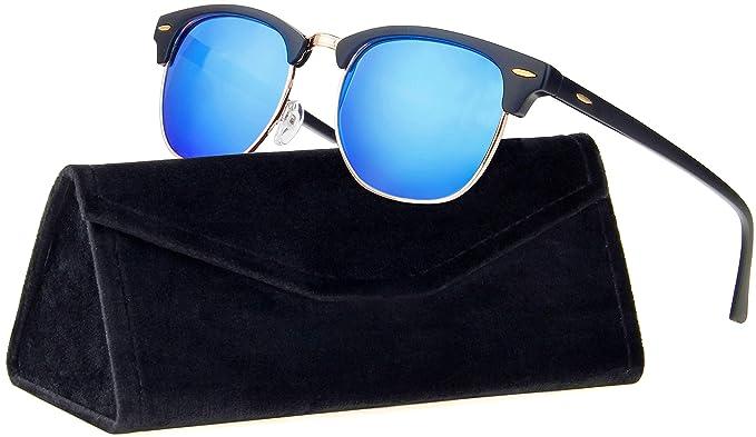 Amazon.com: Stylle - Gafas de sol semipolarizadas sin ...