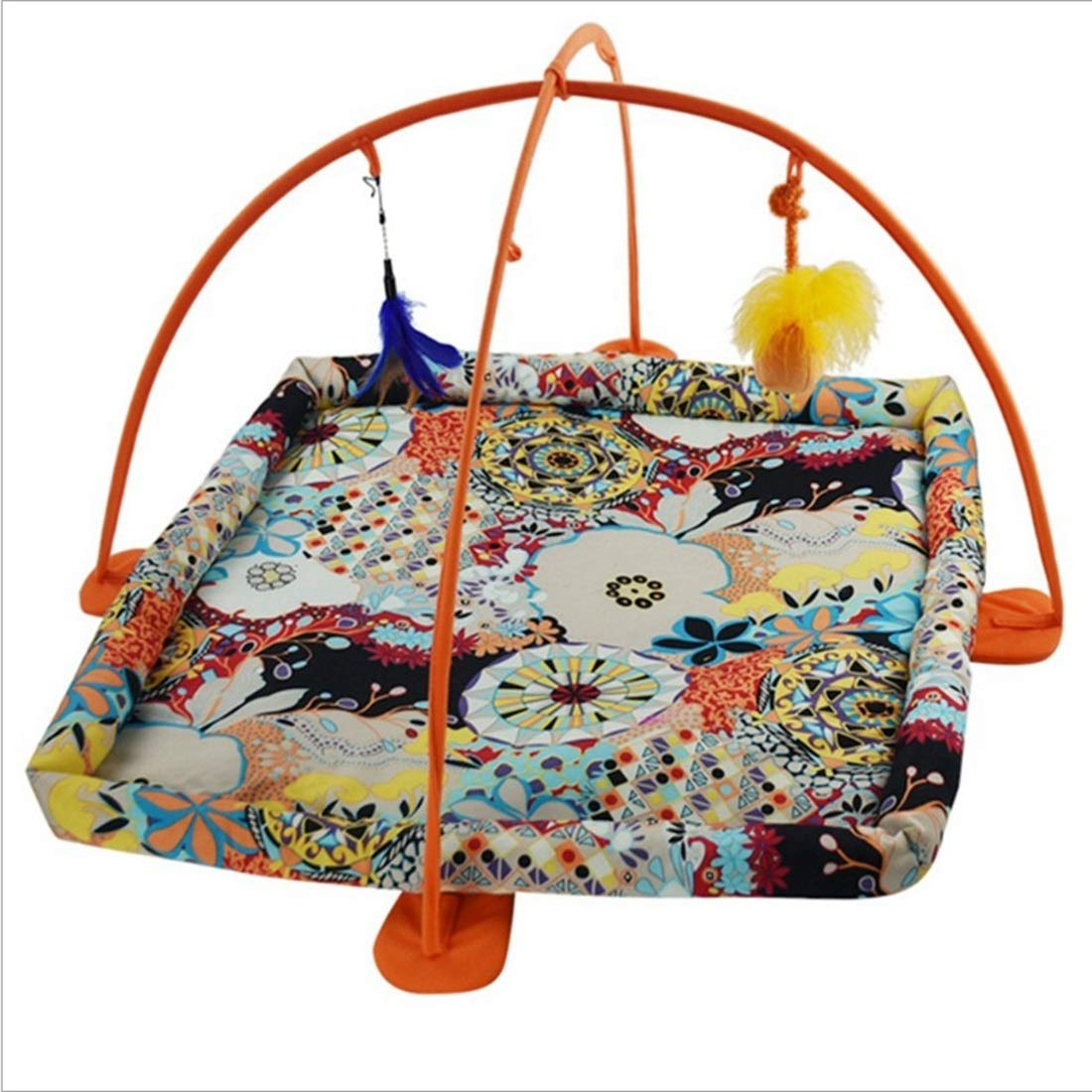 Yanhui YH Cat Tent Pet Toy Cat Hammock Toy (Color : Orange) by Yanhui